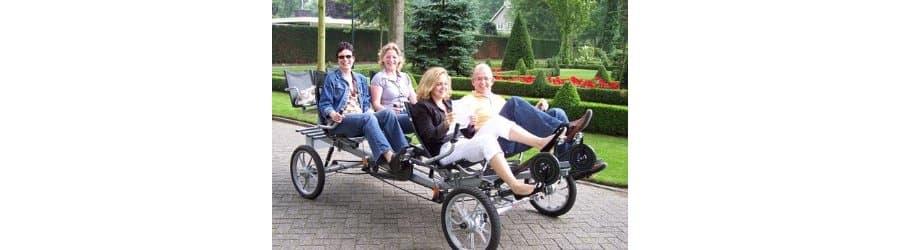Verhuur van (familie)fietsen